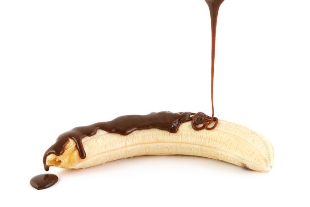 Автор фото: Юлия Бурлаченко. Банан и шоколад