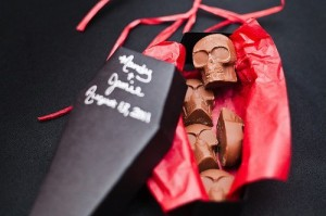 шоколад гроб