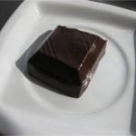 Шоколад после 1 минуты в микроволновке