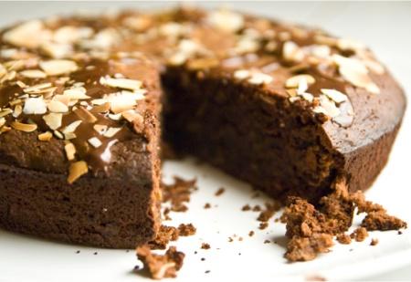 """Рецепт шоколадного кекса """"Шоколадные завитки"""""""