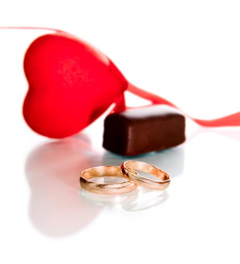 Свадебный шоколад (шоколад на свадьбу). Автор фото: Яна Гуляновская