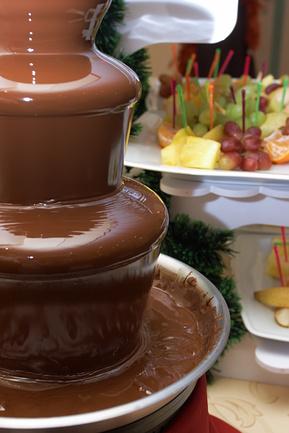 Шоколадный фонтан. Автор фото:  Татьяна Макотра